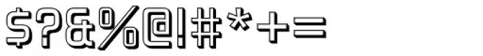 Forgotten Futurist Shadow Font OTHER CHARS