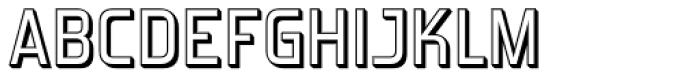 Forgotten Futurist Shadow Font UPPERCASE