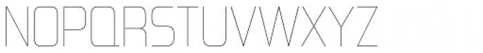 Forgotten Futurist UltraLight Font UPPERCASE