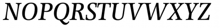Forlane SB Medium Italic Font UPPERCASE