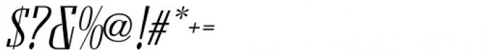 Formal Notice JNL Oblique Font OTHER CHARS