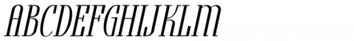 Formal Notice JNL Oblique Font UPPERCASE