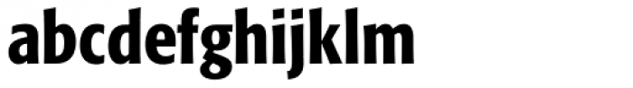 Formata Pro Cond Medium Font LOWERCASE