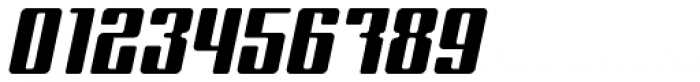 Formetic Bold Oblique Font OTHER CHARS