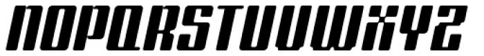 Formetic Bold Oblique Font UPPERCASE