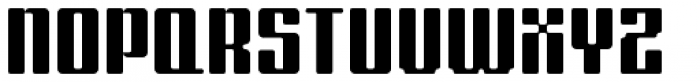 Formetic Bold Font UPPERCASE