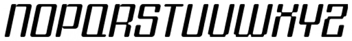 Formetic Light Oblique Font UPPERCASE
