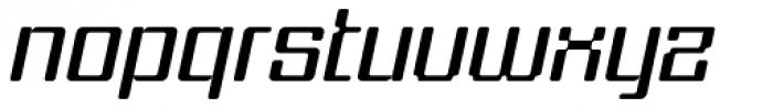 Formetic Light Oblique Font LOWERCASE