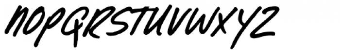 Formosa Slanted Font UPPERCASE