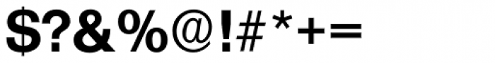Formula Serial Bold Font OTHER CHARS
