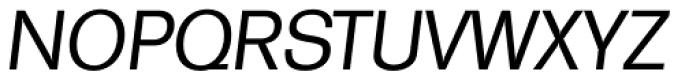 Formula TS Italic Font UPPERCASE