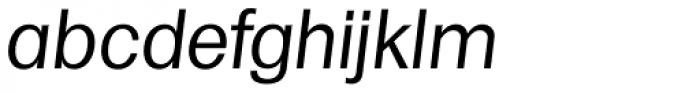 Formula TS Italic Font LOWERCASE