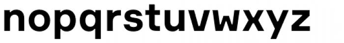 Formular Bold Font LOWERCASE