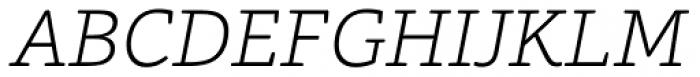 Foro Rounded ExtraLight Italic Font UPPERCASE