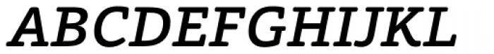 Foro Rounded Medium Italic Font UPPERCASE