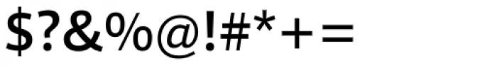 Foro Sans Medium Font OTHER CHARS