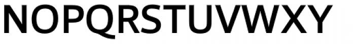 Foro Sans Medium Font UPPERCASE