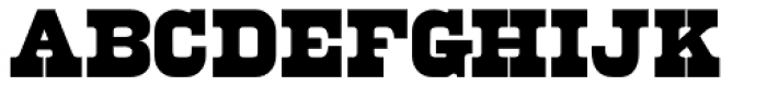 Fort Courage JNL Font LOWERCASE