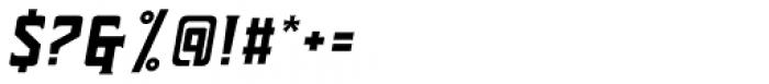 Forthland 01 Oblique Font OTHER CHARS