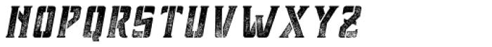 Forthland 08 Oblique Font UPPERCASE