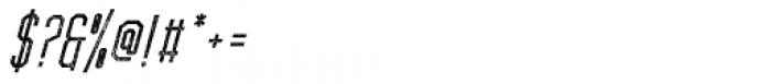 Forthland 09 Oblique Font OTHER CHARS