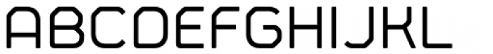 Fortima Medium Font UPPERCASE