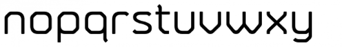 Fortima Medium Font LOWERCASE
