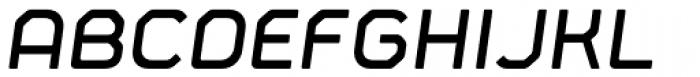 Fortima Semi Bold Italic Font UPPERCASE