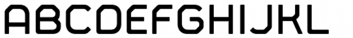 Fortima Semi Bold Font UPPERCASE