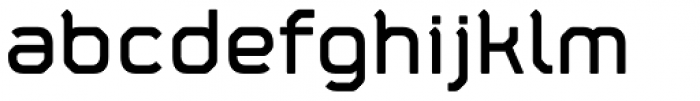Fortima Semi Bold Font LOWERCASE