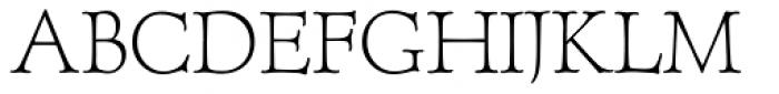 Forum Titling RR Old Style Figures Light Font UPPERCASE
