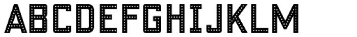 Fosho Book Regular Font UPPERCASE