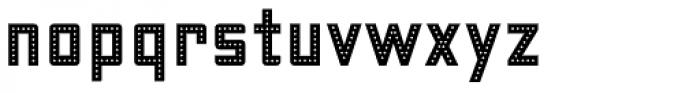 Fosho Book Regular Font LOWERCASE