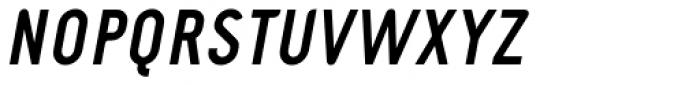 Fou Cond Bold Italic Font UPPERCASE