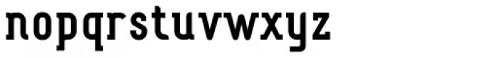 Fou Serif CN Bold Font LOWERCASE