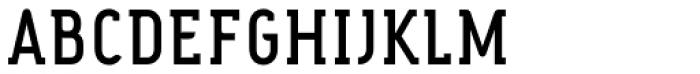 Fou Serif CN Medium Font UPPERCASE