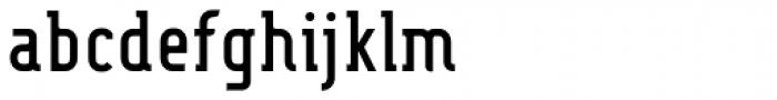 Fou Serif CN Medium Font LOWERCASE