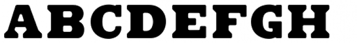 Found Font UPPERCASE