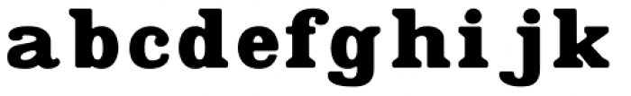 Found Font LOWERCASE