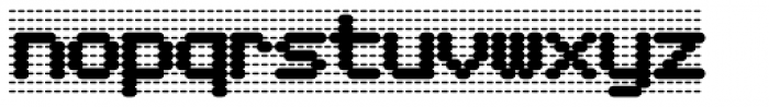 Foundry Dat Bold Font LOWERCASE