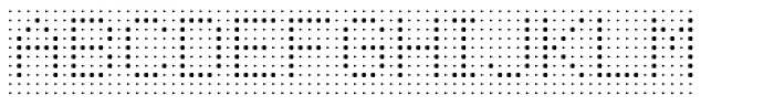 Foundry Flek Light Font UPPERCASE