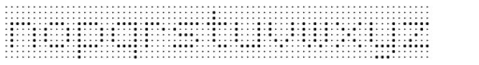 Foundry Flek Light Font LOWERCASE