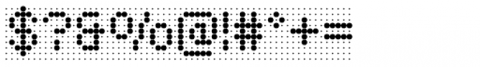 Foundry Flek Medium Font OTHER CHARS