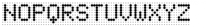 Foundry Flek Medium Font UPPERCASE