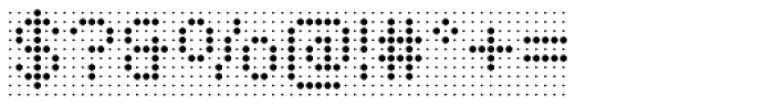 Foundry Flek Regular Font OTHER CHARS