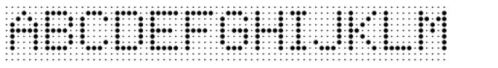 Foundry Flek Regular Font UPPERCASE