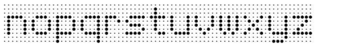 Foundry Flek Regular Font LOWERCASE