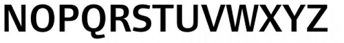 Foundry Form Sans Demi Font UPPERCASE
