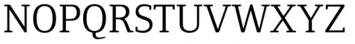 Foundry Form Serif Book Font UPPERCASE