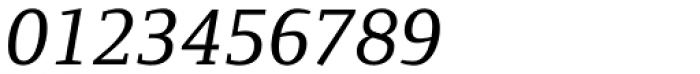 Foundry Form Serif Medium Italic Font OTHER CHARS